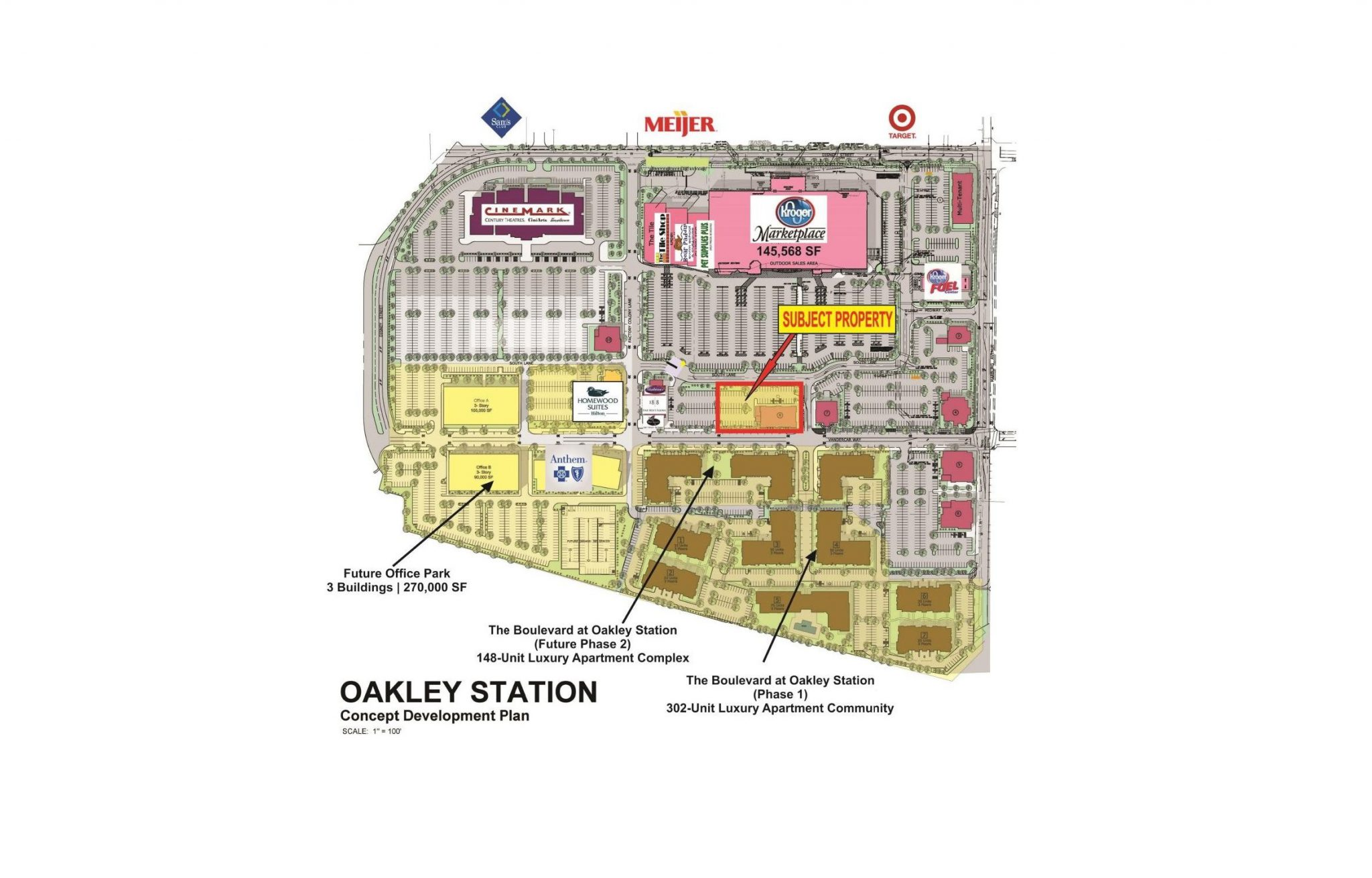 Oakley Station (Kroger Shadow Anchored) - The Dumes Falk GroupThe ...