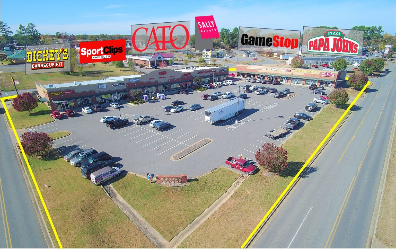 Walmart Shadow Anchored Center - The Dumes Falk Group